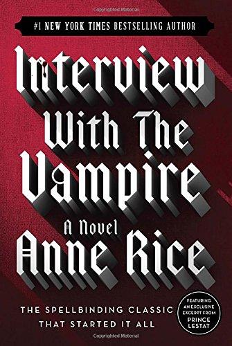 Interview with a VampireInterview With A Vampire Book Cover