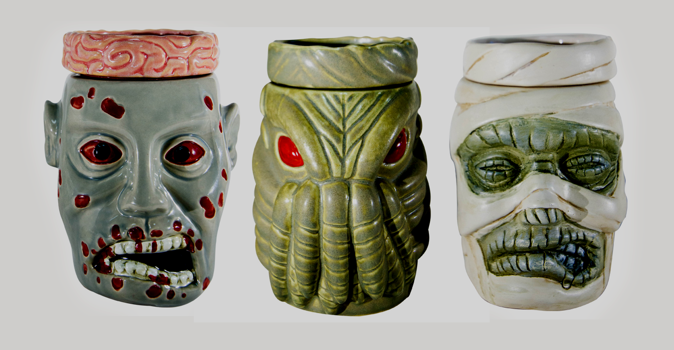 THE MONSTERS ARE HERE! Second Wave of Horror Wax Warmers Now Available!